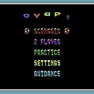 Oyup! A Good Puyo Puyo clone released today for the C64