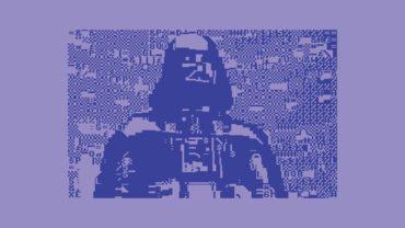Star Wars - I Am Your Father - C64 BASIC Blue PETSCII