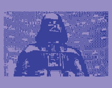 Star Wars - I Am Your Father - C64 BASIC Blue PETSCII