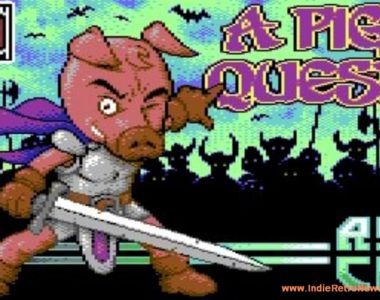 A Pig Quest - Awesome looking C64 game by Antonio Savona and team gets new screenshots