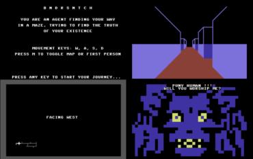 Bandersnatch for C64 v0.1: the story so far