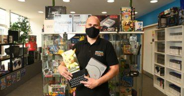 Nostalgic retro games shop transports you back in time